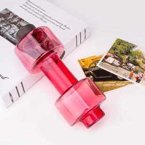 New Design Sports Dumbbell Shape Gym Water Bottle For Outdoor