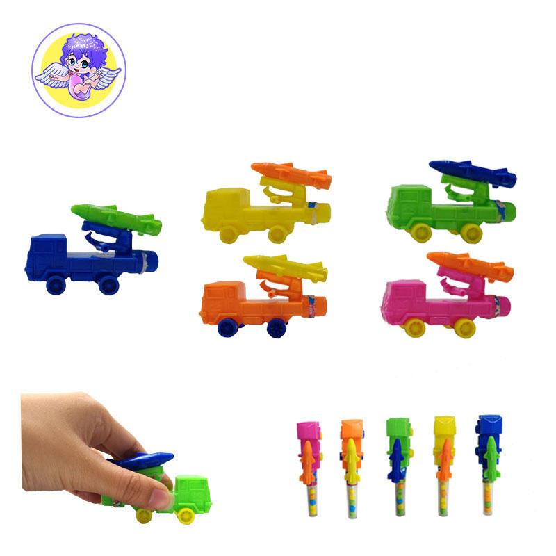 Foguete carro hard candy confeitaria doces do brinquedo de plástico para exportação