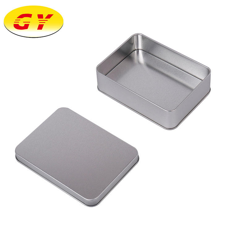 Wholesale custom new small gift rectangular metal tin box wholesale