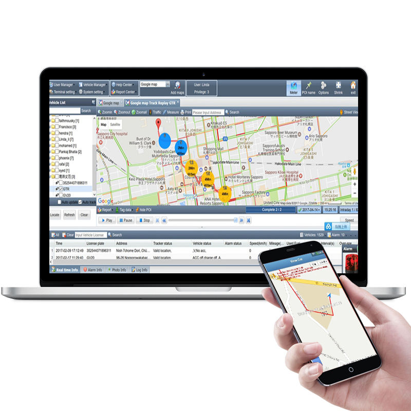 wereldwijde kleinste gps tracking device software die compatibel is met gps tracker teltonika