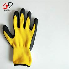 Anti Cut 5 Resistant TPR Hand Protection Work Safety Sandy Nitrile Coated Construction Oilfield Impact Gloves