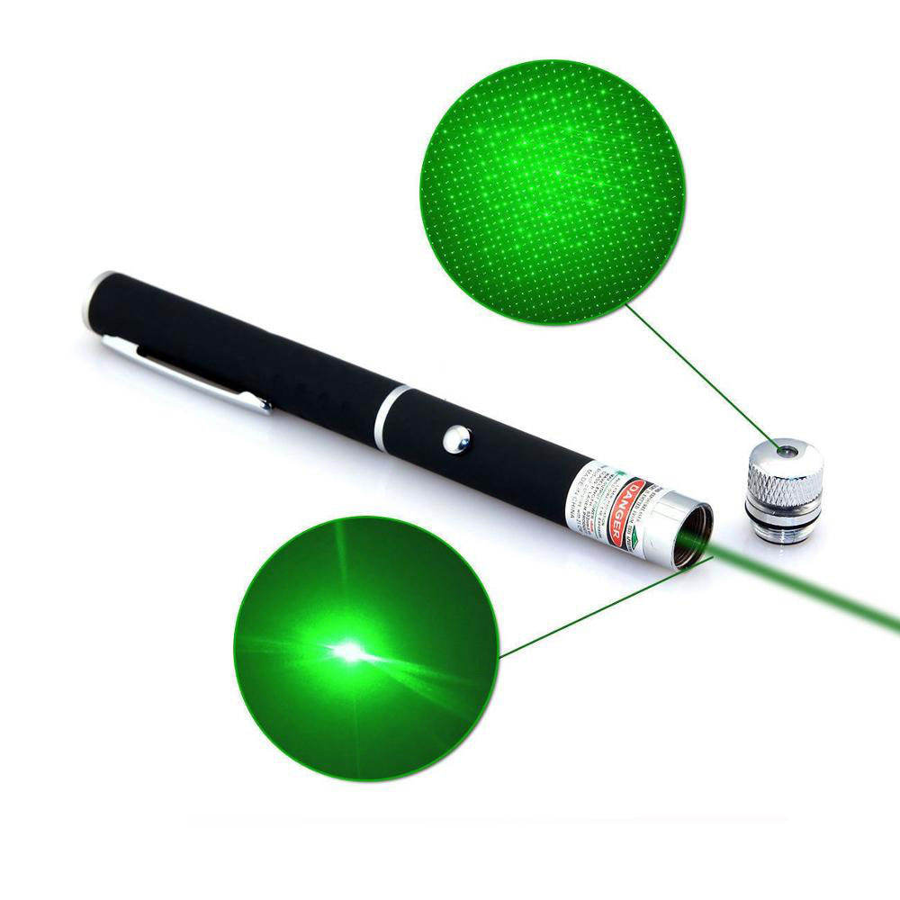 High Power Hunting Green Red Blue Laser Light Pen Pointer Pet Laser Pointer with On Off Switch