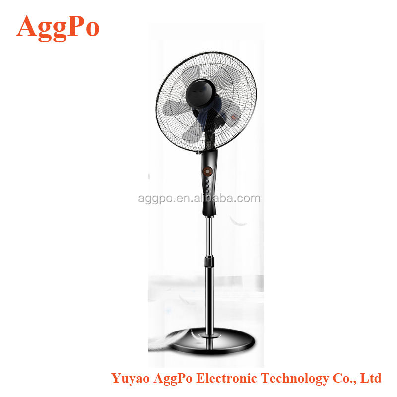 "Stand Fan 16"" Stand Fan with Remote Control, 3 Speed Settings Adjustable Pedestal Fan 3-Speed Oscillating Stand Dual Blade"