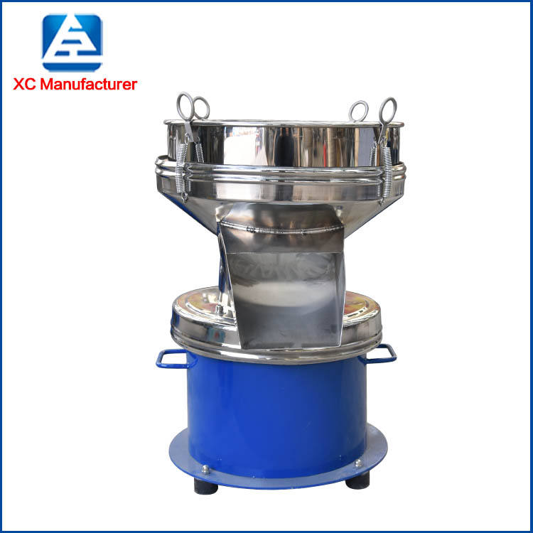 Vibrating Filter Sieve Xianchen 450mm Type Vibration Filter Sieve For Solid Liquid Separator Vibrating Screen