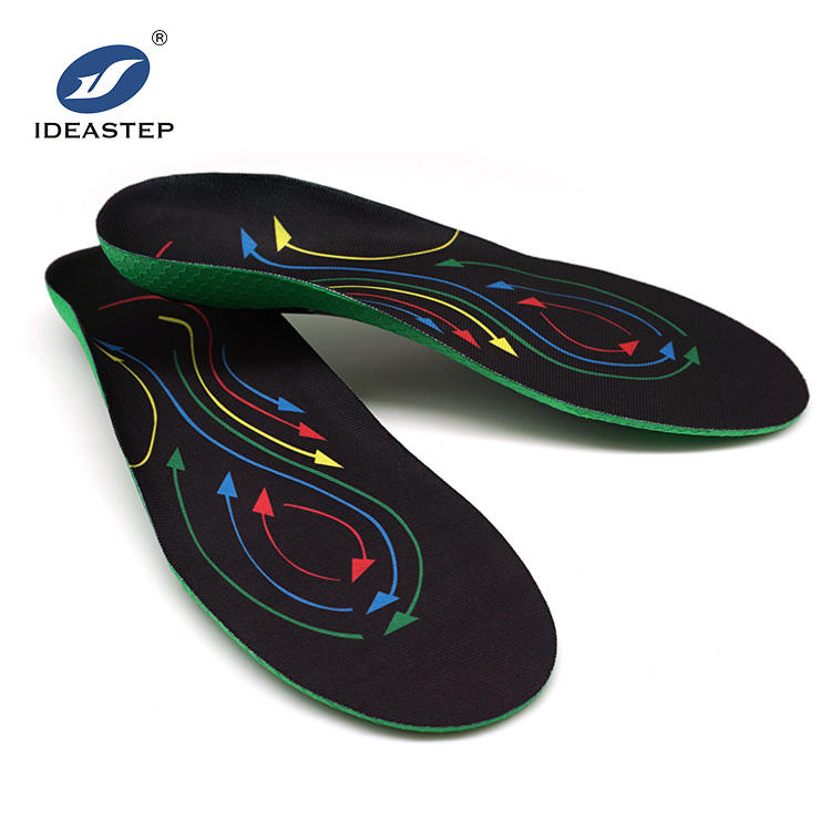 IDEASTEP Good Shock Absorption Sport Insole with built-up arch and shaped heel to reduce pronation shoes insoles MANUFACTURER