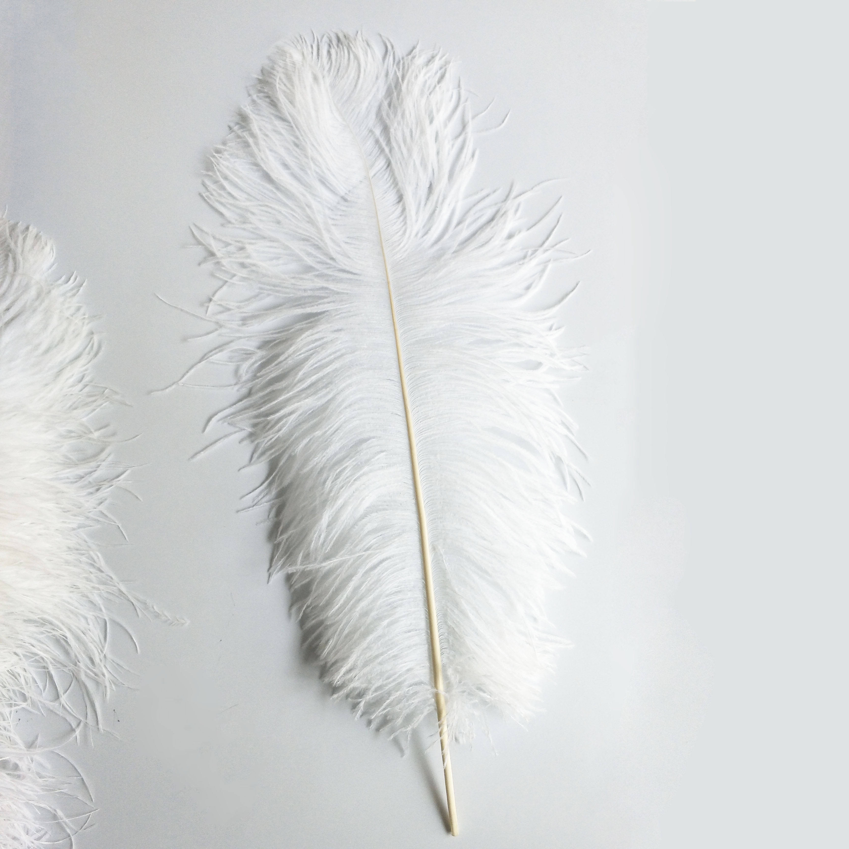 65-70cm large synthetic curly Ostrich Feather White Ostrich Feather Colorful Ostrich Feather for for wedding decor