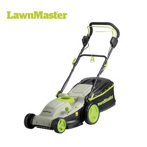 LawnMaster 2-in-1 Mulch self-propelled 6 cutting positions Professional hand push electric corded lawn mower- MEBS1842M