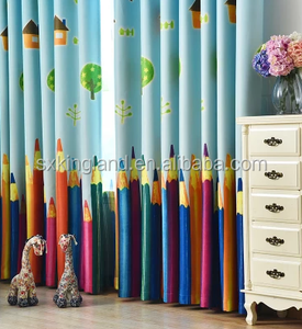 Factory New Panels Kids Baby Room polyester Blackout Curtain