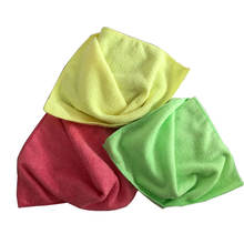 Multipurpose 350Gsm Colorful Microfibre Cleaning Cloth