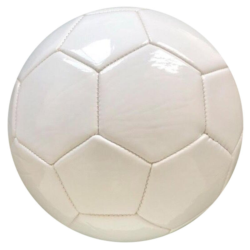 ActEarlier Football training equipment cheap pvc leather no logo plain blank white football soccer ball for gifts