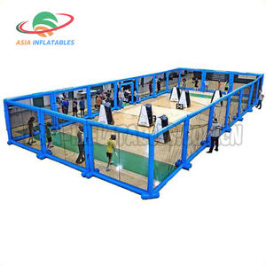 Commercial Inflatable Paintball Field , Inflatable Arena For Bunker