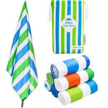 Microfiber Suede Oem Sublimation Printed Swimming Beach Travel Towel
