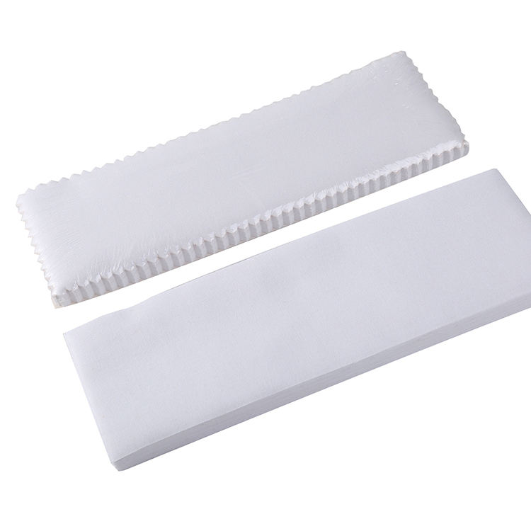 Wholesale custom high quality muslin calico paper depilatory wax remover strips and wax roll
