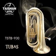 Professional Gold Lacquer Brass Body Tuba
