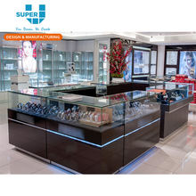 Custom Retail Luxury Brand Watches Store Kiosk Stand Watch Display Furniture Shopping Mall Kiosk Design