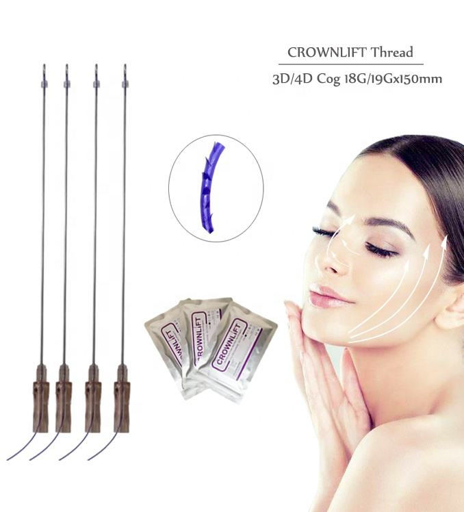 CROWNLIFT Safe and Effective double needle with cog for raising eyebrows