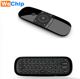 wireless remote wechip w1 mini Keyboard Fly Mouse Remote Control wechip w1