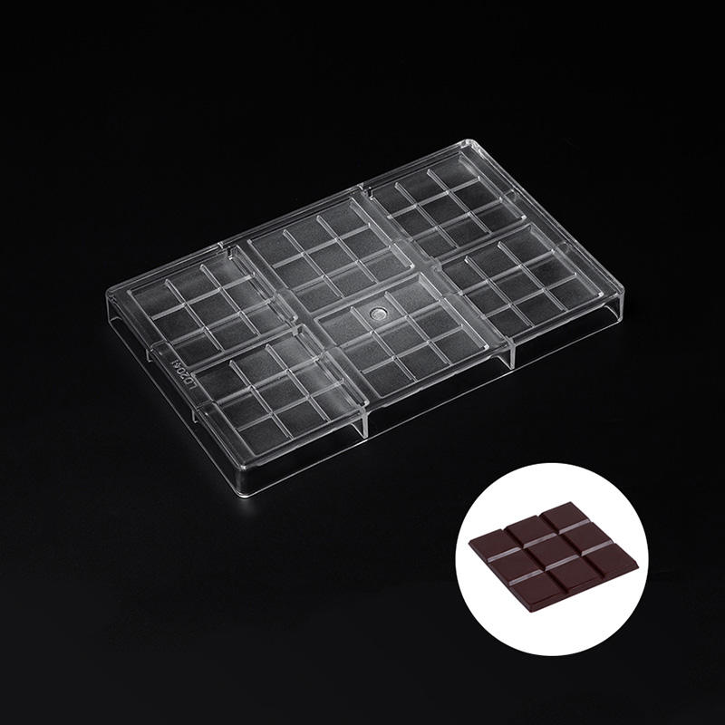 Clear PC Chocolate Molds Polycarbonate Mold Candy Making Mold