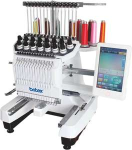 BR-3620 Single Head 15 Needles China Flat Cap T-shirt Hat Embroidery Machine Computerized Embroidery Machine