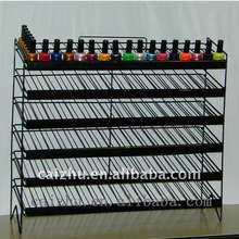 6 Layer Wire metal Nail Polish display Rack