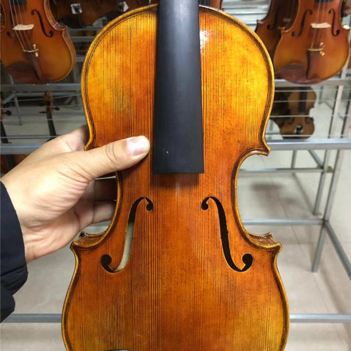 professional handmade natural flame violin made in china