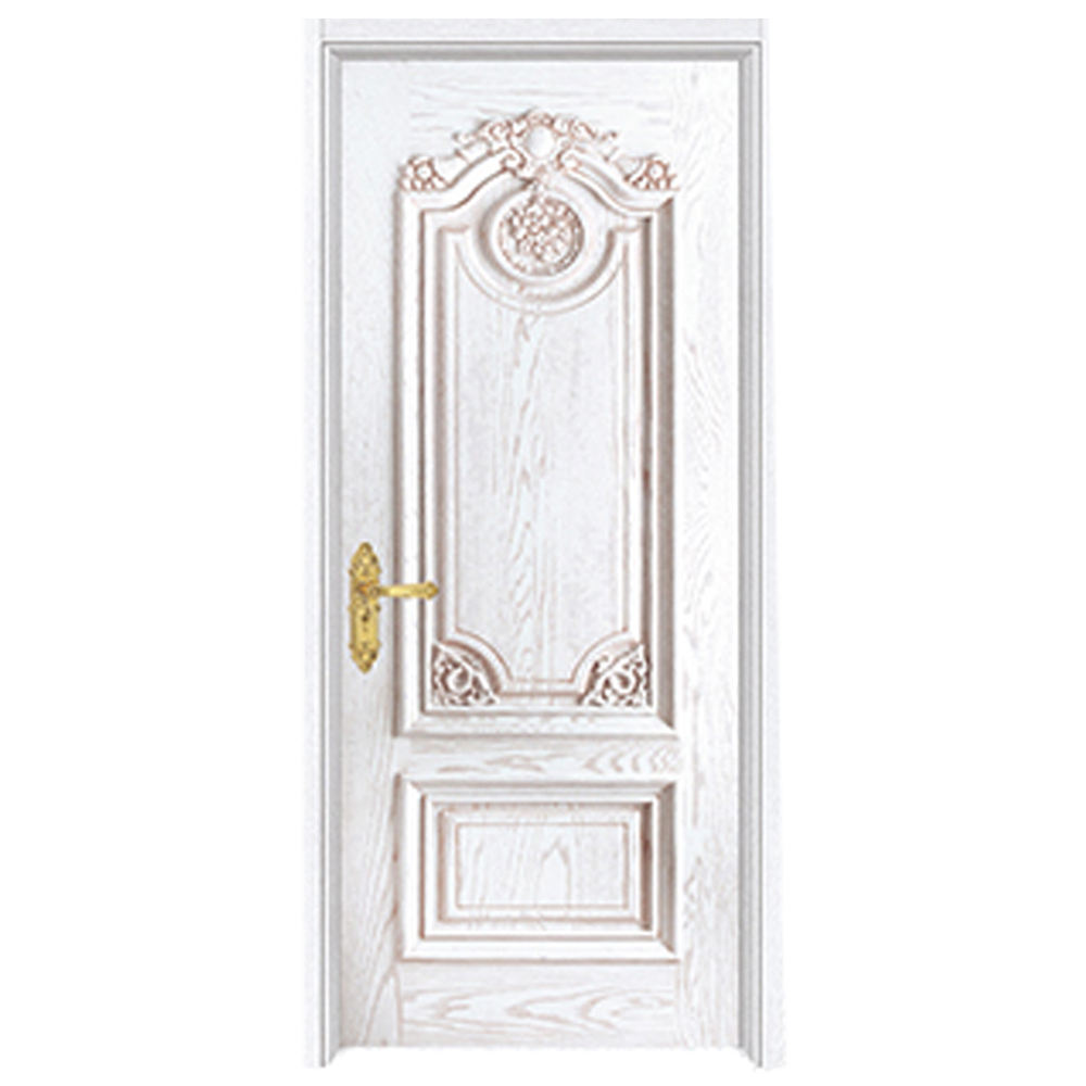 Modern style Hot sale American knotty pine wood room door for home use teak wood door prices