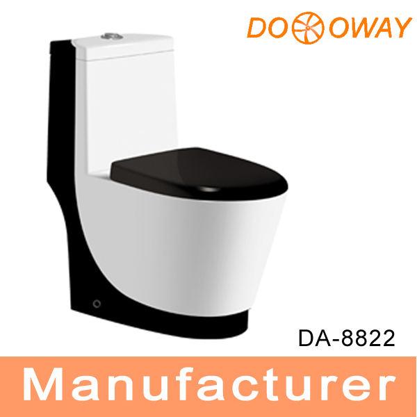 <span class=keywords><strong>nuevo</strong></span> diseño de cuarto de baño lavado de una sola pieza de letrina de inodoro de color da8822