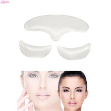 Silicone Eye Transparent Face Reusable Forehead Anti wrinkle Pad