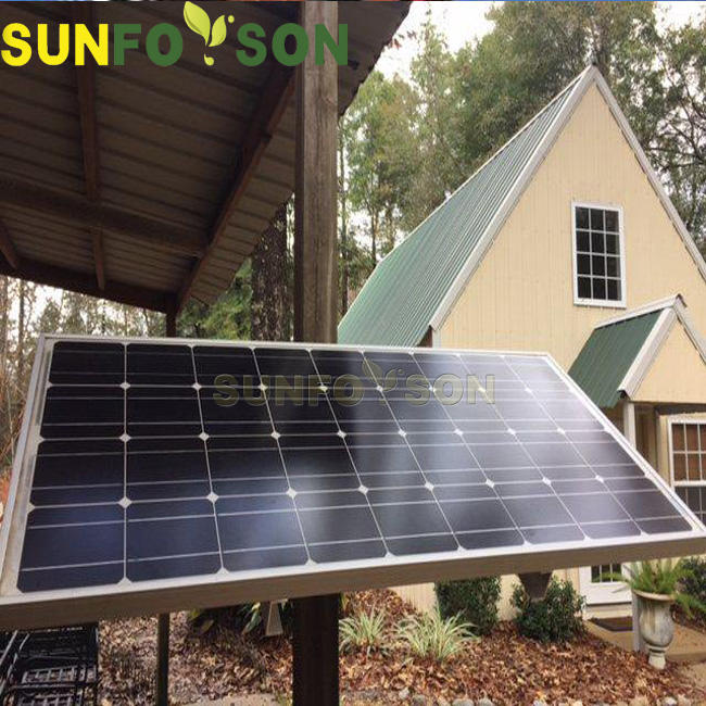 Home solar power system pv mounting rail for wall panel PV structure