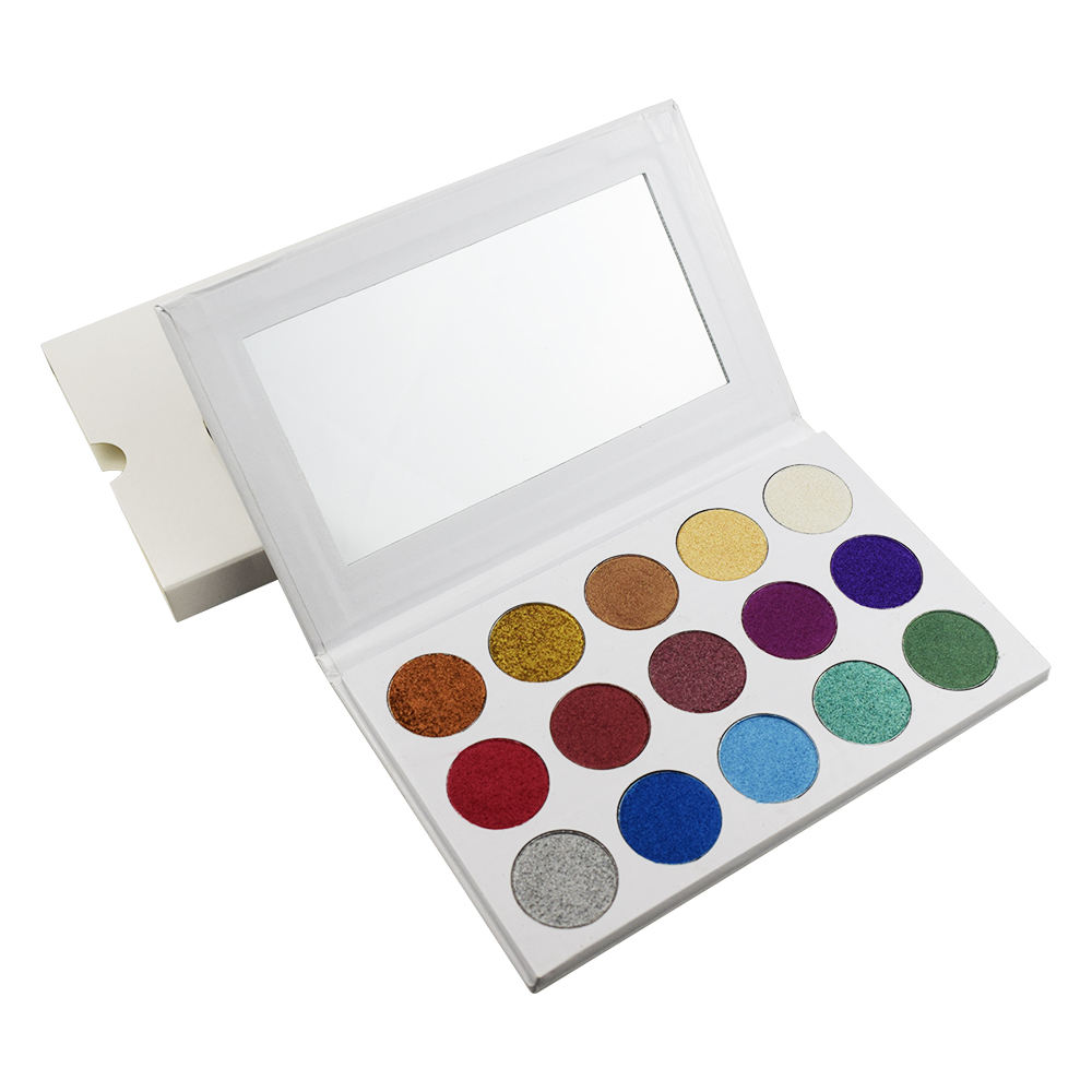 Wholesale high quality eyeshadow palette glitter makeup with High Quality