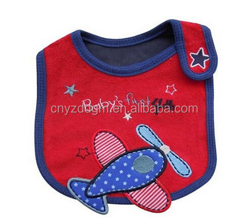 Lovely Cute Cartoon Pattern Toddler Baby Waterproof Saliva Towel Baby Bibs Airplane Pattern/Baby Bib