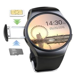KW18 Orologio Intelligente SIM TF MTK2502 Heart Rate Monitor Touch Screen Bluetooth Smartwatch Orologio Da Polso