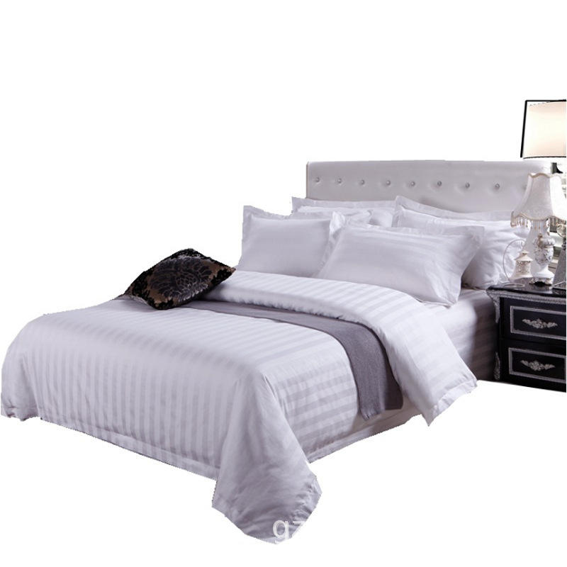new product 5-star high quality textile cheap hotel bedding four sets