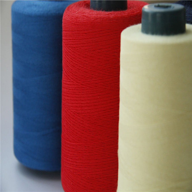 meta and Para aramid sewing thread /kevlar aramid sewing thread