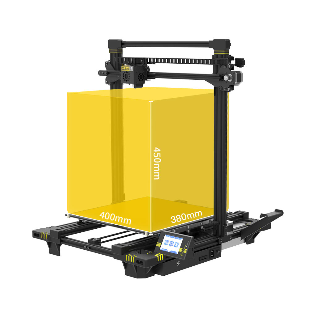 Anycubic Chiron Plus Ukuran 400*400*450 Mm FDM 3 D Mesin Industri Skala Besar 3D Printer