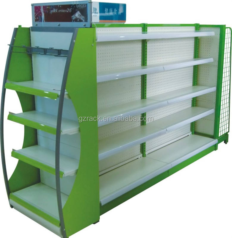 Mineral Water Rack / Supermarket Storage Shelving System