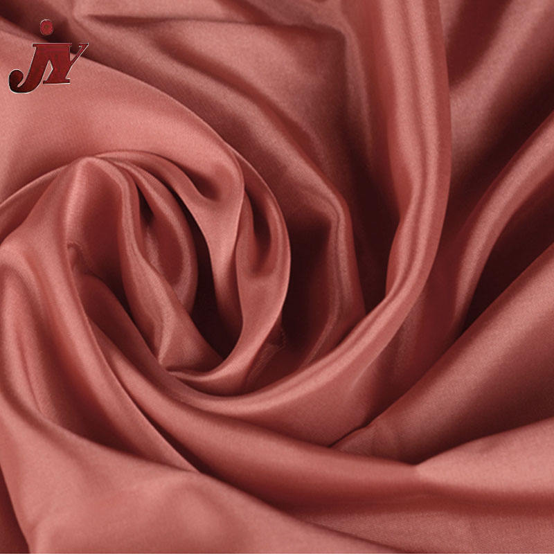 China supplier 100% Polyester Material and Coated Pattern 190T waterproof satin shiny taffeta fabric