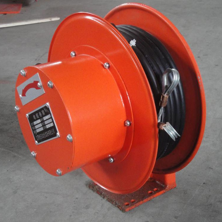 Good quality small size and light weight spring driven cable reel for controlling cable