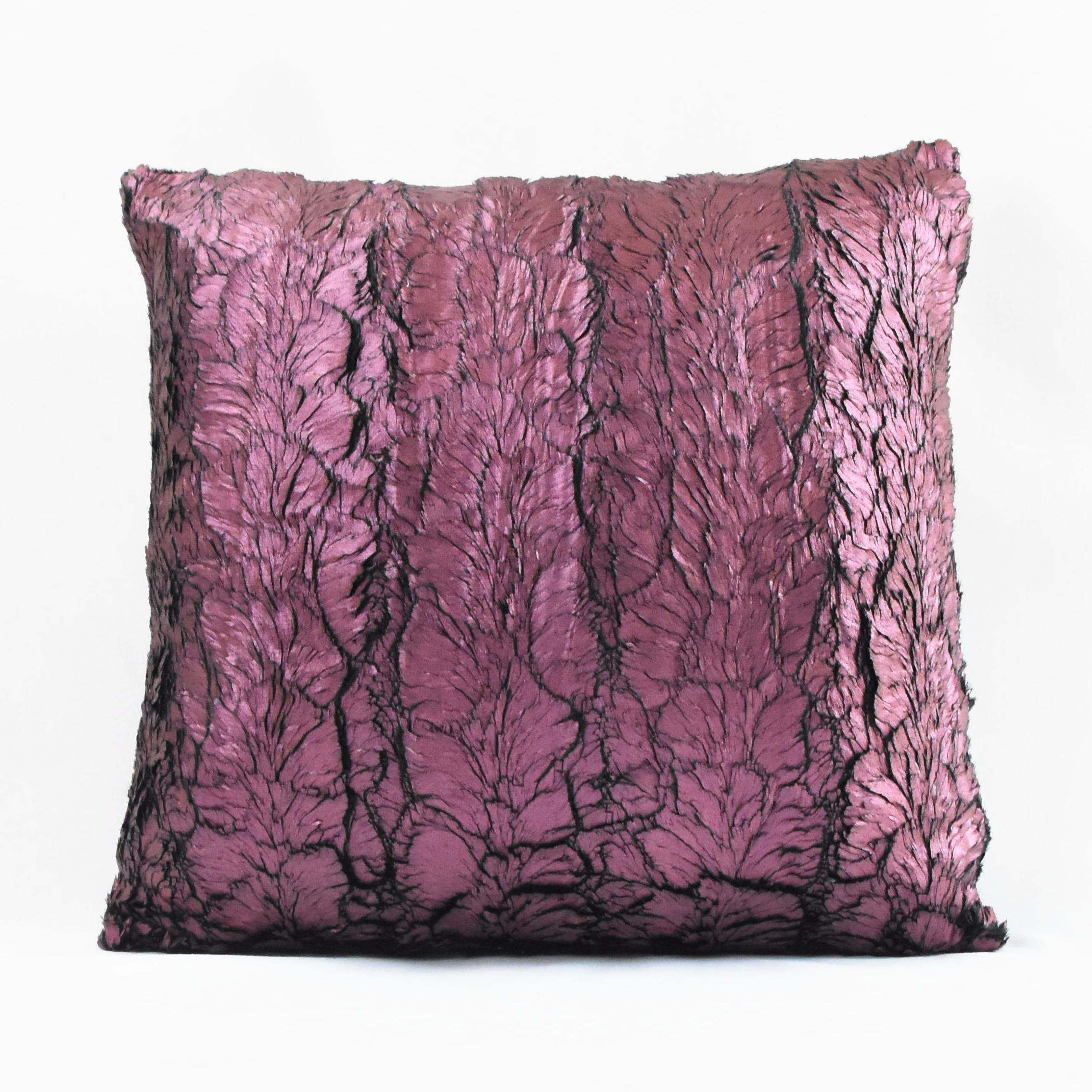 Hong Kong Style Simple Modern Three-dimensional Hot Stamping Velvet Square Pillow Cushion Cover