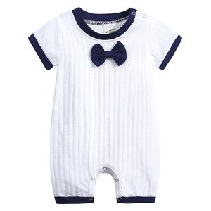 Boy Baby Clothes 100% Cotton 0 3 6 9 12 18 Months Short Sleeve Summer Girls Boys Rompers Toddler Infant Baby Boy Cute Clothes