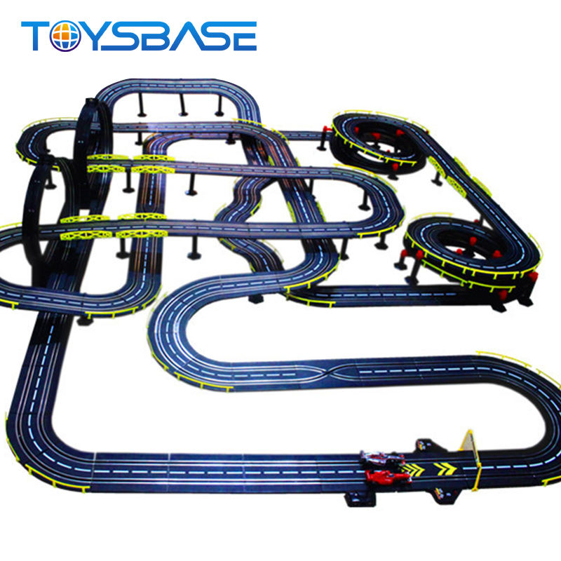 High Speed Electric Rail Car Racing Game Slot Track Racer Toy
