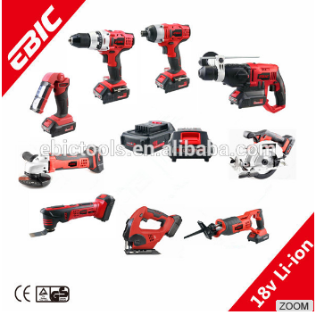 OEM 18V Electric Cordless Tool Kits Power Tool Combo Kits