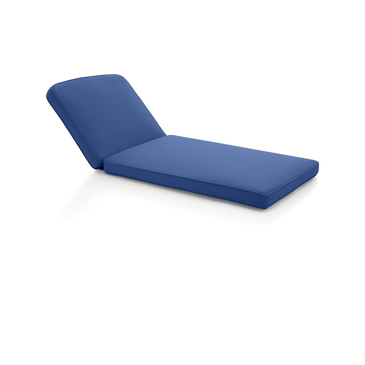 Wholesale Customized Water Repellent Outdoor/Indoor Chaise Lounge seat Cushion