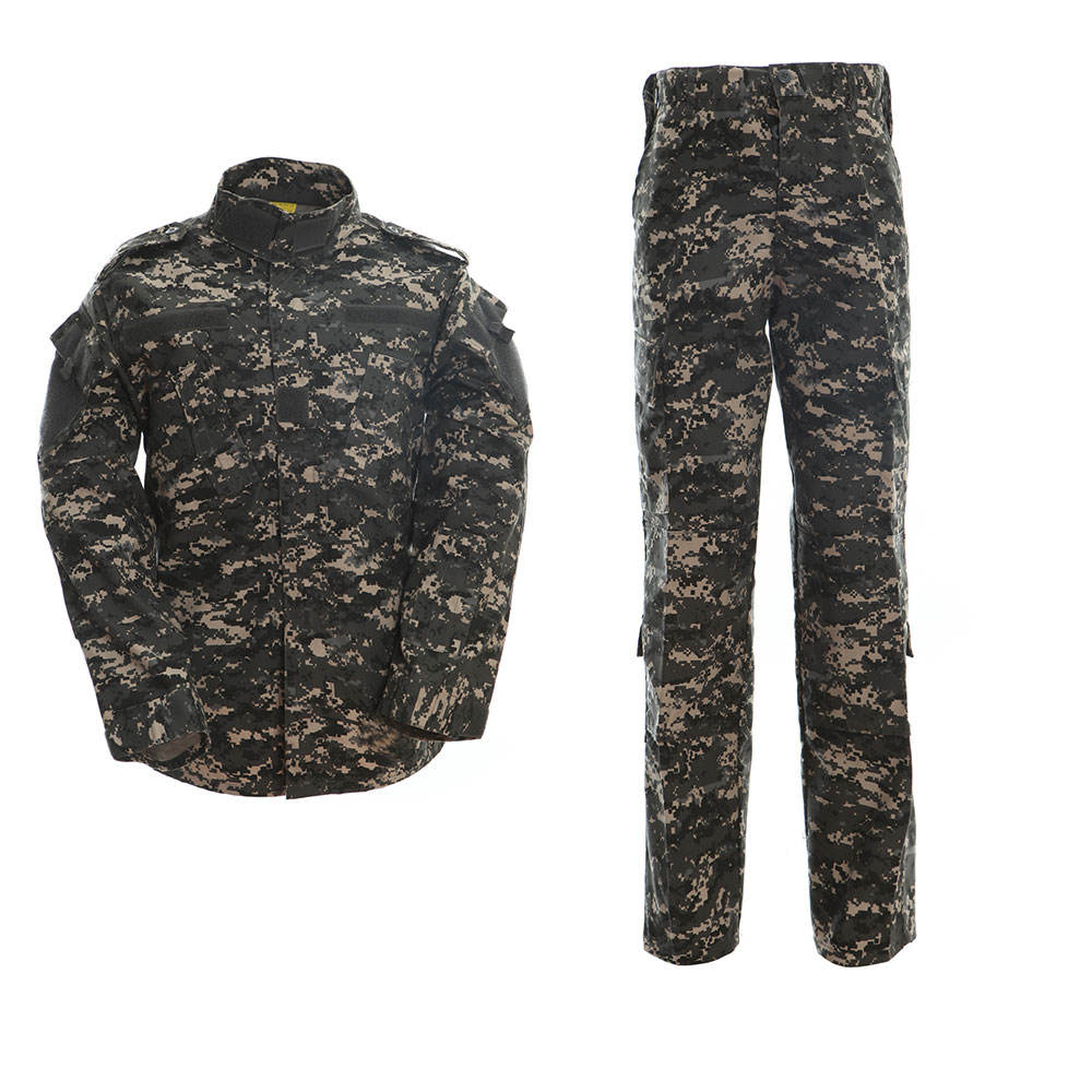 Camo Hunting Jacket Rip Stop Tactical Security Jacket Military Use Army Uniforms