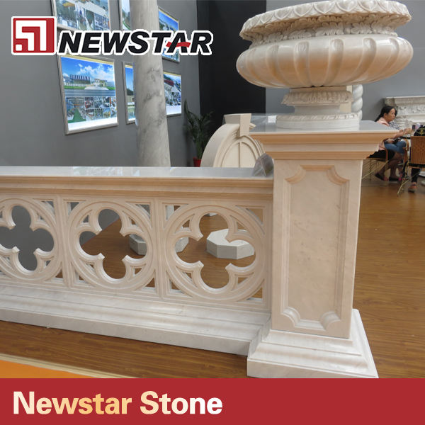 marble baluster natural stone railing