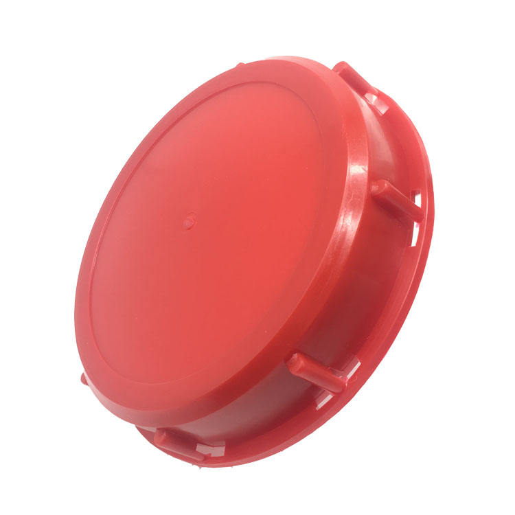 "1000L IBC Tank red lids/caps 163mm (6"")"