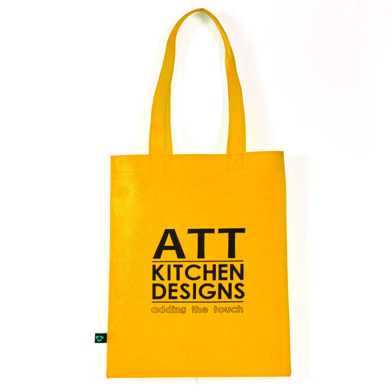 Eco-friendly Shopping Bag Promo Eco-Friendly Recycle Reusable Laminated Non Woven Tote Shopping Bag