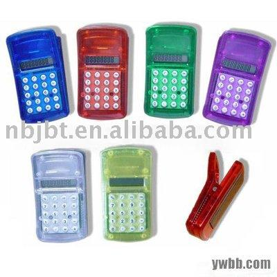 Mini calculadora clipe