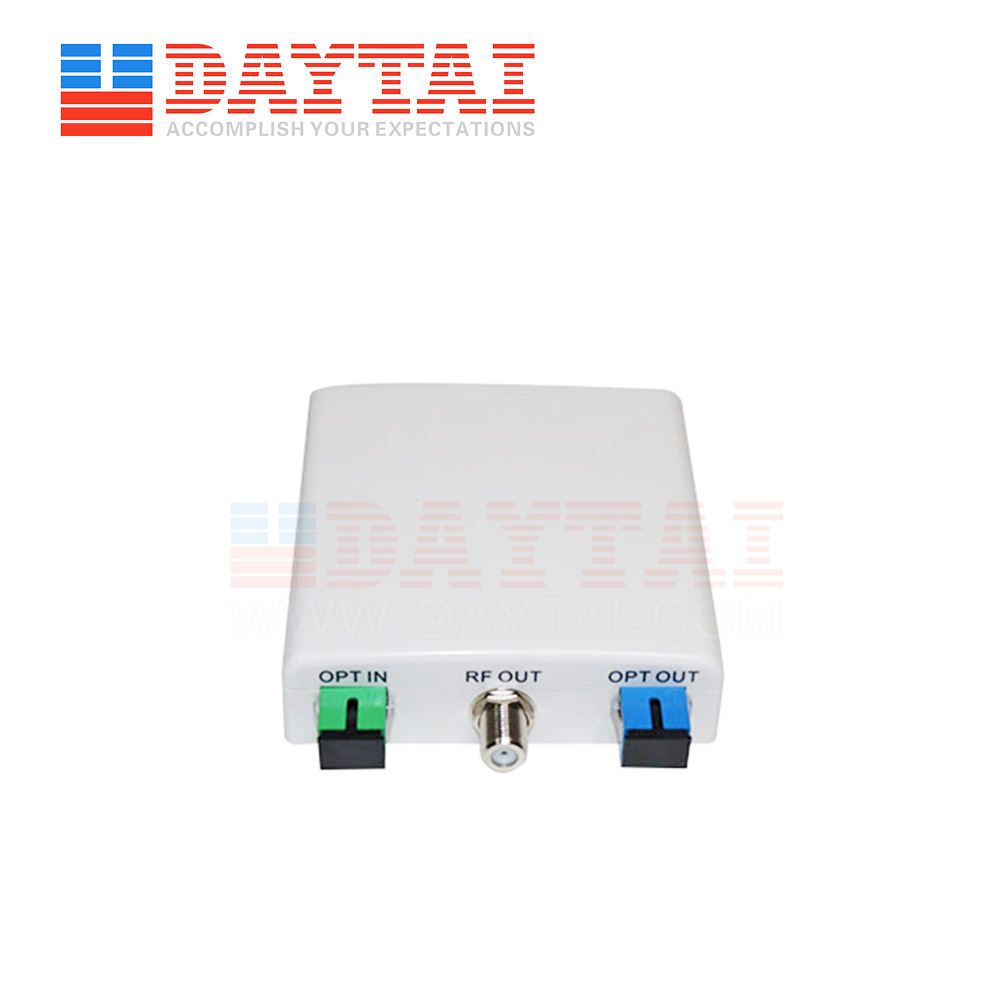Digital PON CATV Optical Receiver FTTH WDM Optical Node Without Power Supply