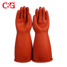 Best rubber 11kv safety hand gloves for electrical work
